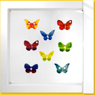 Présentoir Papillons Irisés Prime