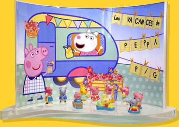 Présentoir goutte Peppa Pig Prime