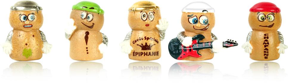 CUVÉE SPÉCIALE ÉPIPHANIE - Série de 10 fèves