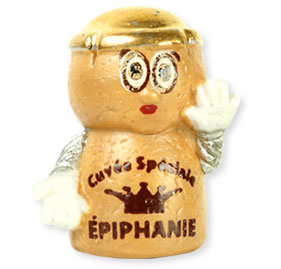 Collection de 10 fèves Épiphanie 2020 - CUVÉE SPÉCIALE ÉPIPHANIE - Fève n°8