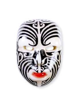 Collection de 12 fèves Épiphanie 2020 - TRIBAL & ETHNIC MASKS - Fève n°9