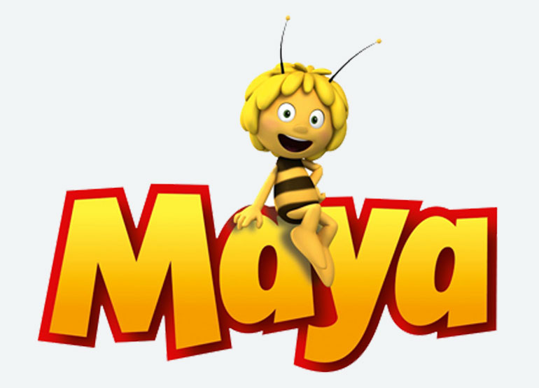 Logo Maya l'abeille - Licence Prime