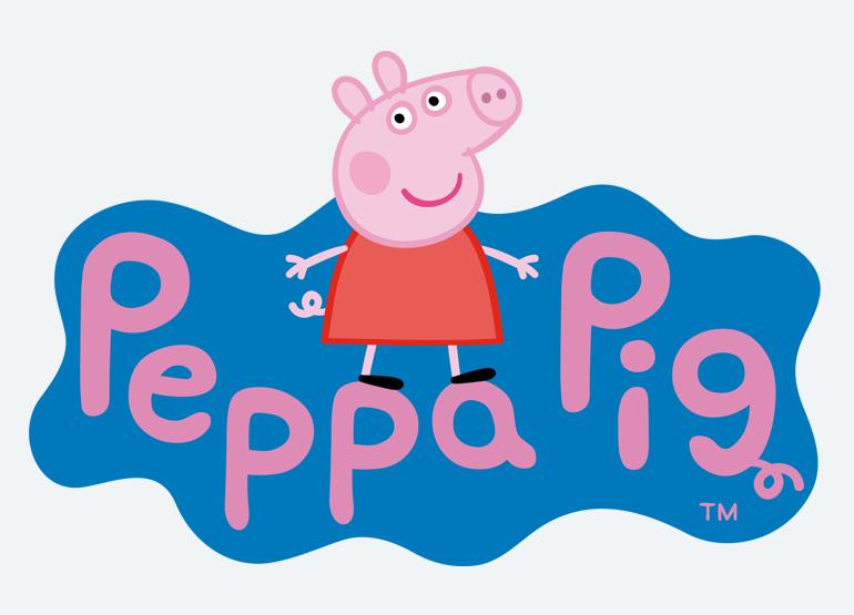 Logo Peppa Pig - Licence Prime