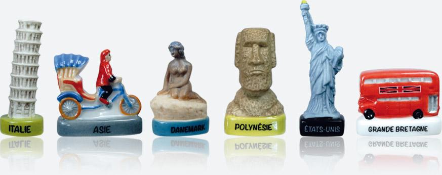 Road-trip à Travers Le Monde - Collection De Fèves Épiphanie 2021