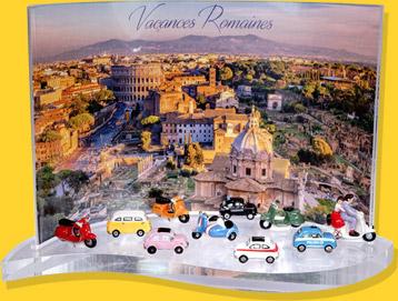 Présentoir Goutte Vacances Romaines