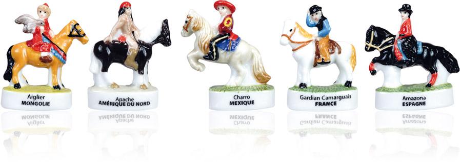 Cavaliers Du Monde - Collection De Fèves Épiphanie 2021