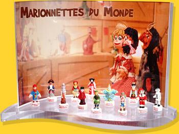 Présentoir Goutte Marionnettes Du Monde