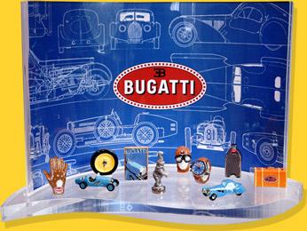 Présentoir Goutte Bugatti Conduite Stylée