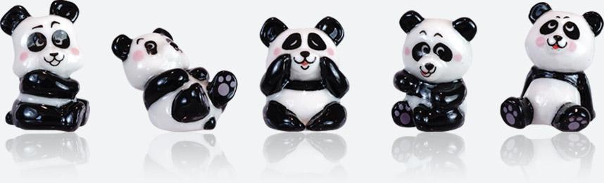 panda Fun - Collection De Fèves Prime Pour Épiphanie 2021