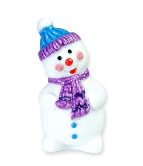Bonhommes de neige - Collection de fèves Prime pour Épiphanie 2021