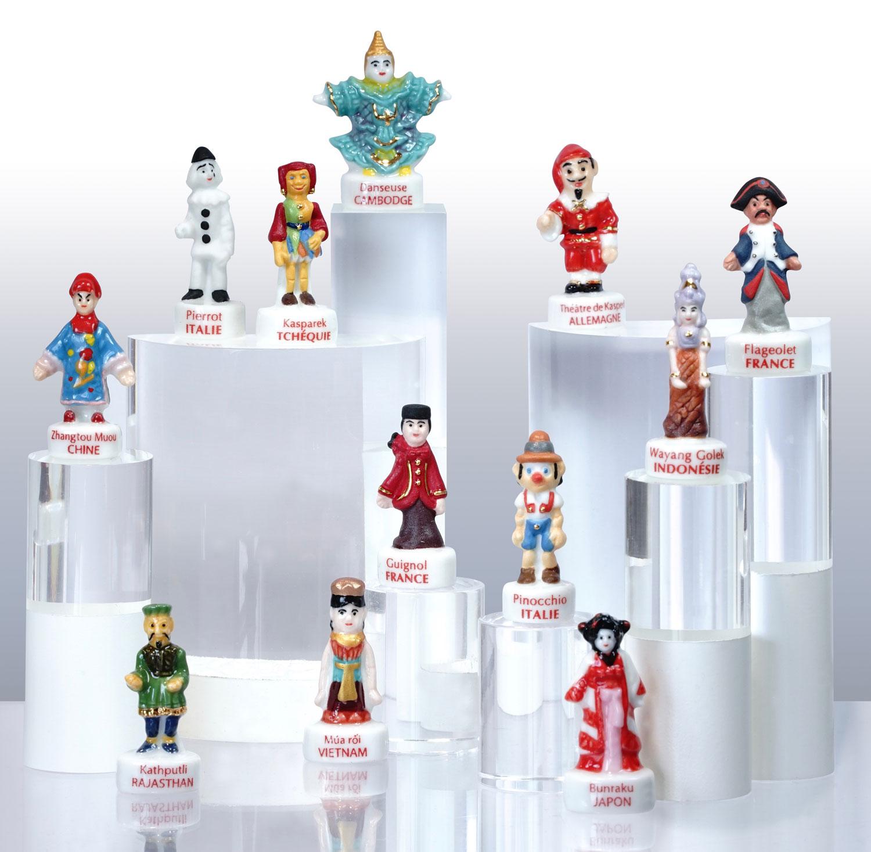 Marionnettes du Monde - Collection de fèves Prime pour Épiphanie 2021