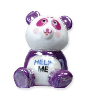 Panda, symbole de la protection animale - Collection de fèves Prime pour Épiphanie 2021