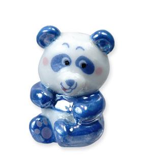 Panda, symbole de la protection animale – Collection de fèves Prime pour Épiphanie 2021