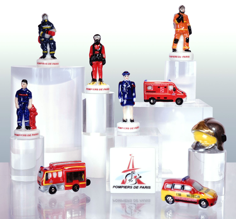 Sapeurs Pompiers de Paris - Collection de fèves Prime pour Épiphanie 2021