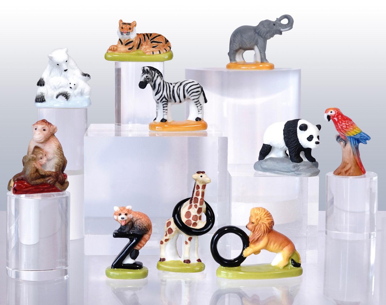 Zoo, préservation et protection - Collection de fèves Prime pour Épiphanie 2021