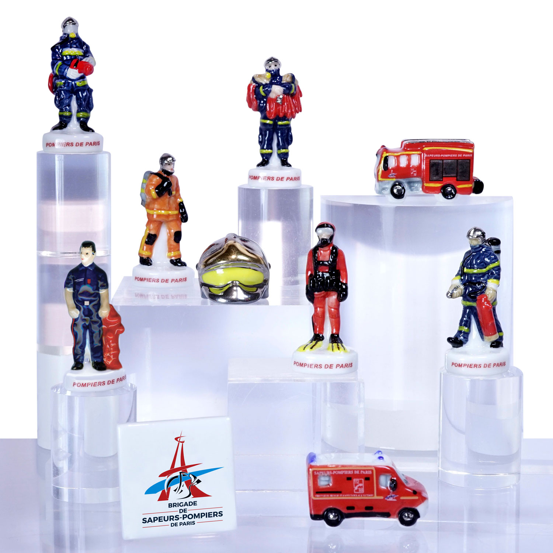 Fèves sapeurs-pompiers de Paris - Prime