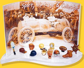 Présentoirs et Coffrets Prime - Sport, Vintage & Collector - Fèves Épiphanie 2022