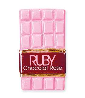 Fève Prime - Épiphanie 2022 - Collection Ruby Chocolat Rose