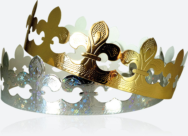 Couronne Prime - Fleur de lys - Épiphanie 2022