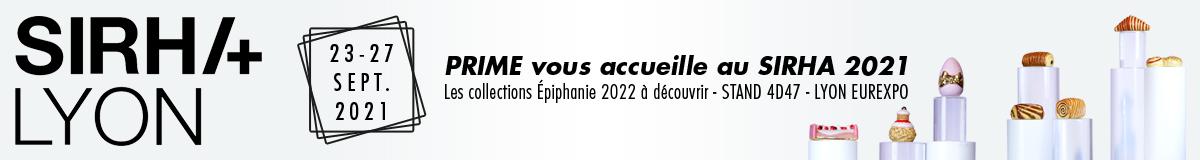 Salon de la gastronomie SIRHA 2021, Prime est votre partenaire pour l'Épiphanie !